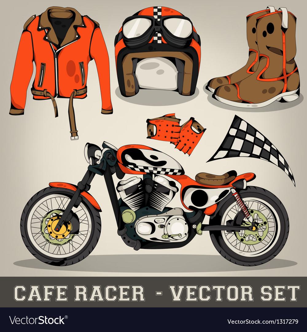 Cafe Racer Set