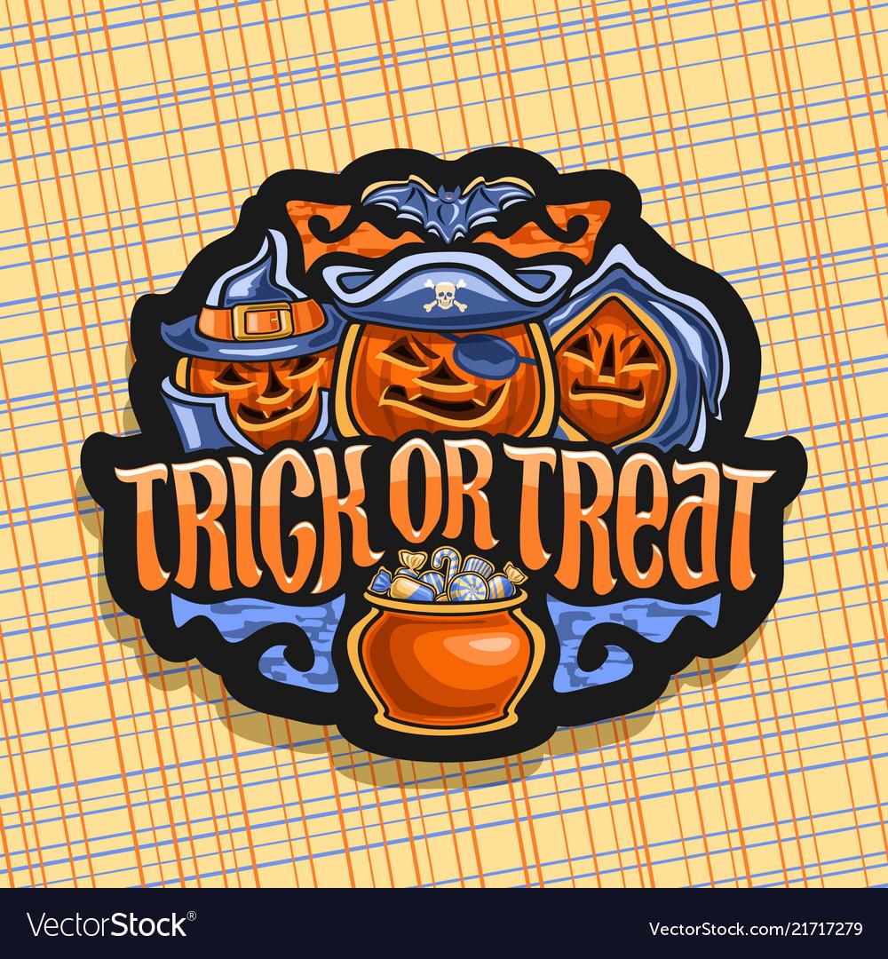 Logo for halloween