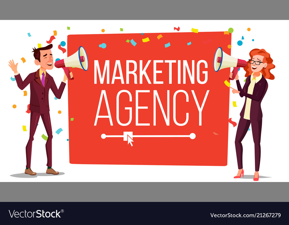 Marketing agency banner inbound outbound