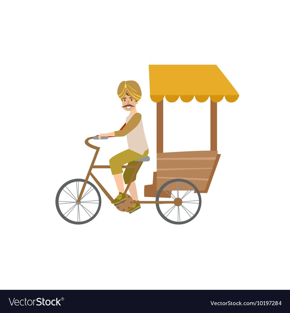 Indian Bicycle Rickshaw