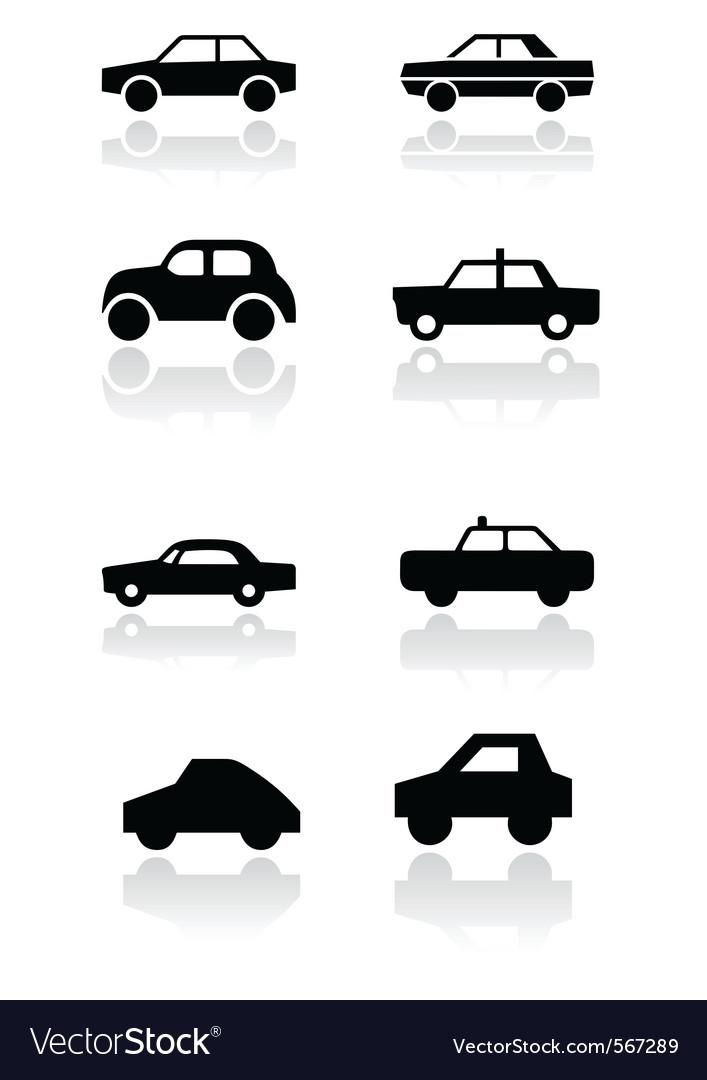 Car symbol set