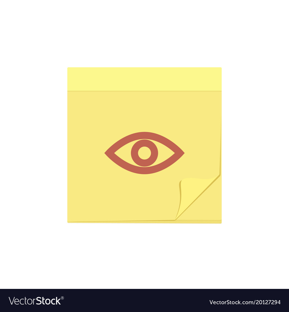 Comment eye message note task view icon