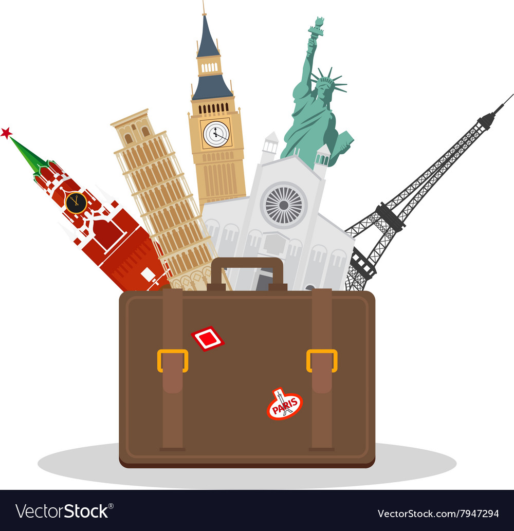 Travel or tourism concept
