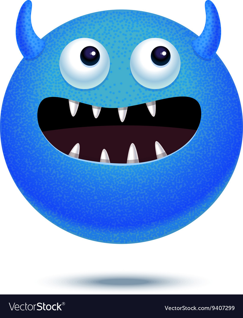 Cartoon funny monster