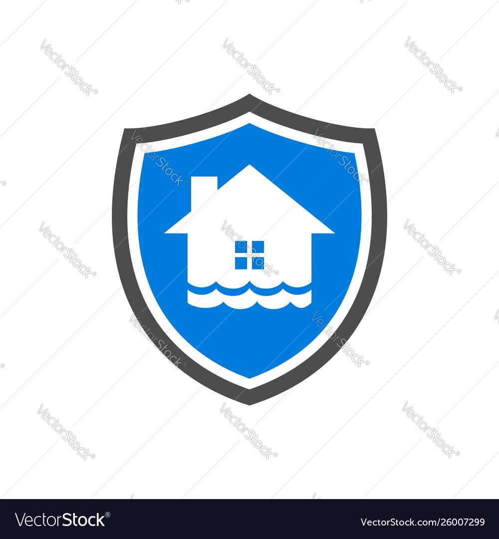 Homeguard flood protection symbol design