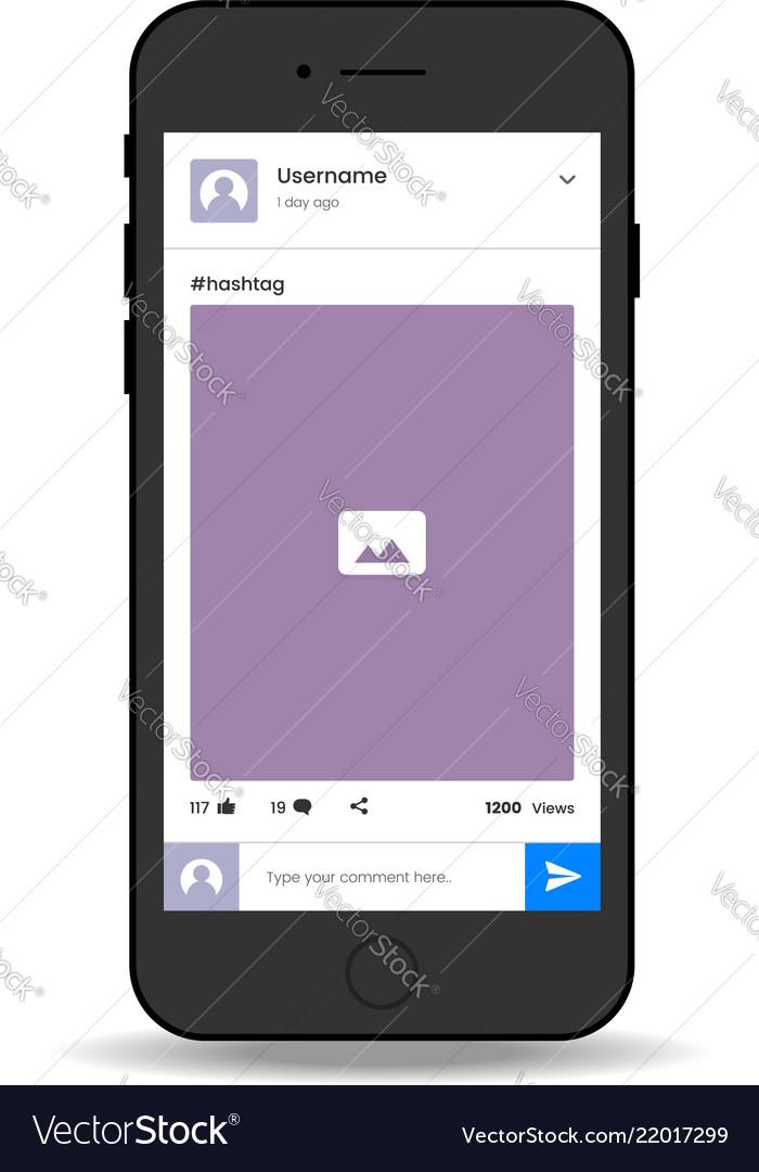 Social media photo share mobile