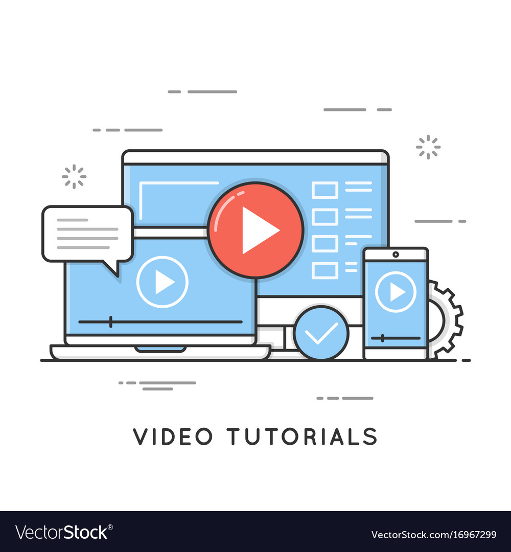 Video tutorials online training and learning