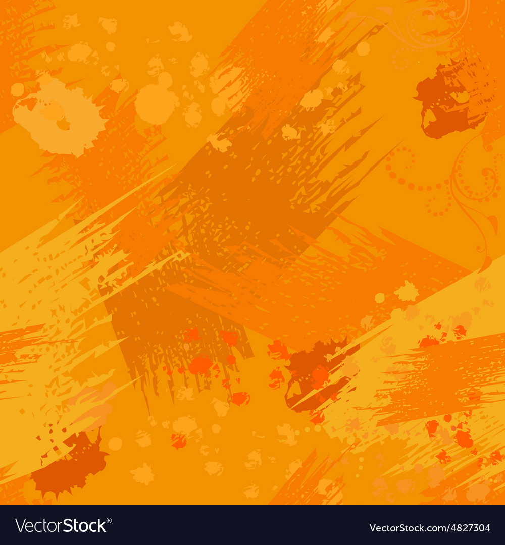 Seamless grunge texture with blobs and blots vector image
