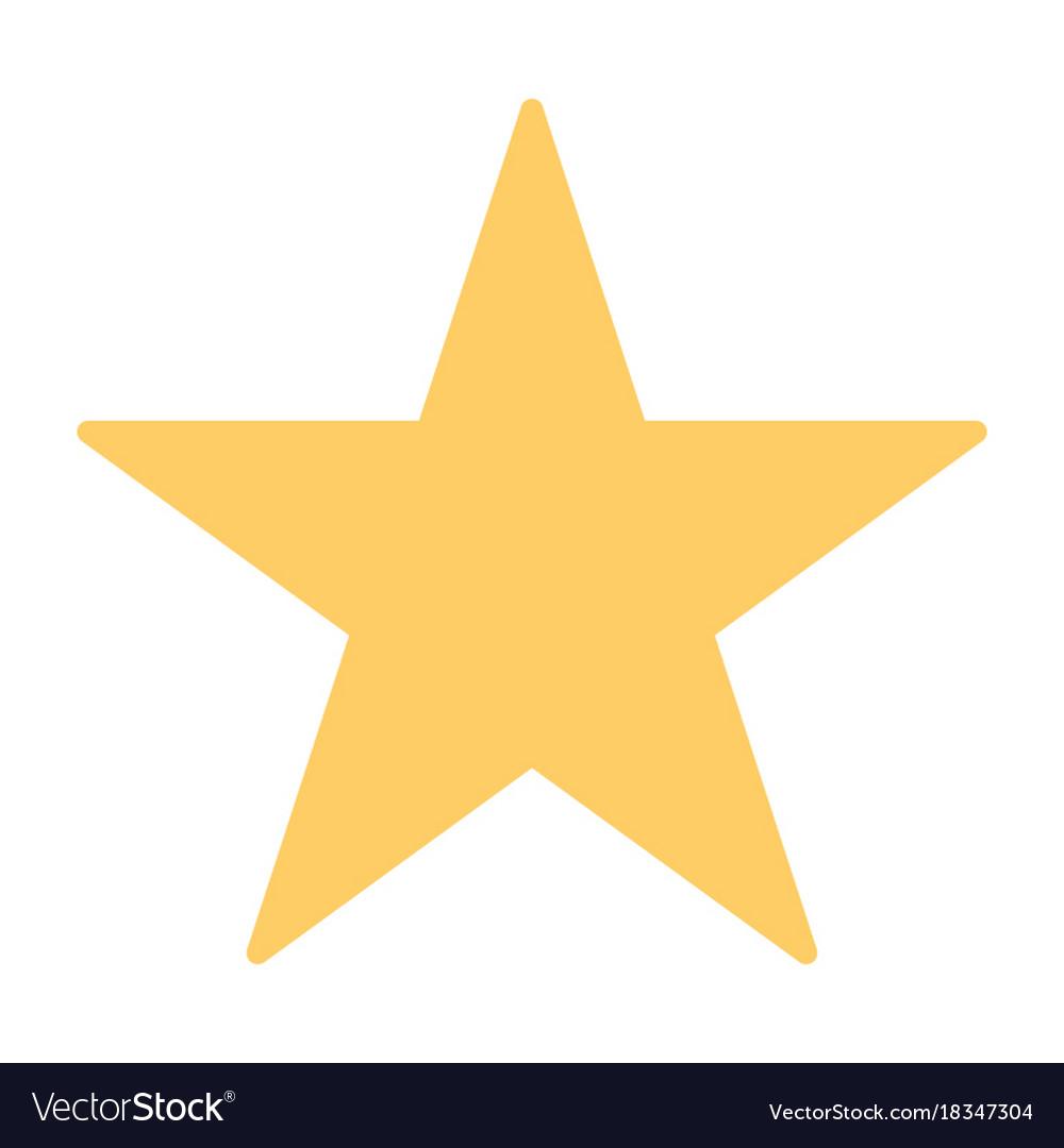 Star silhouette icon