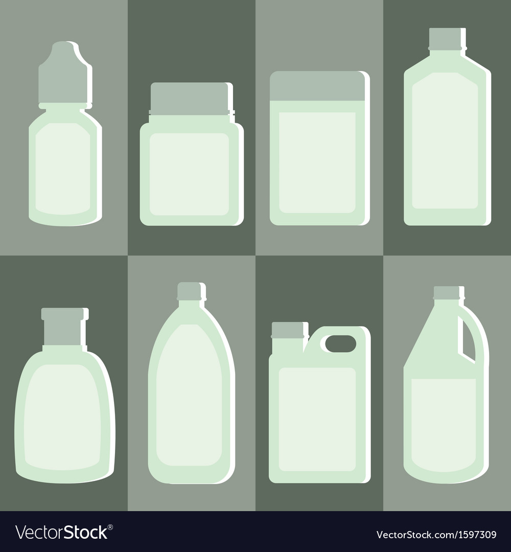 Set of medicine bottle