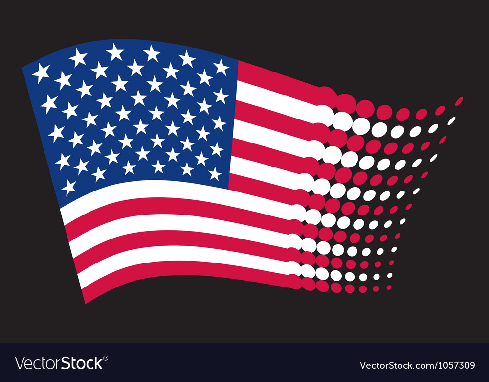 USA flag - United States of America