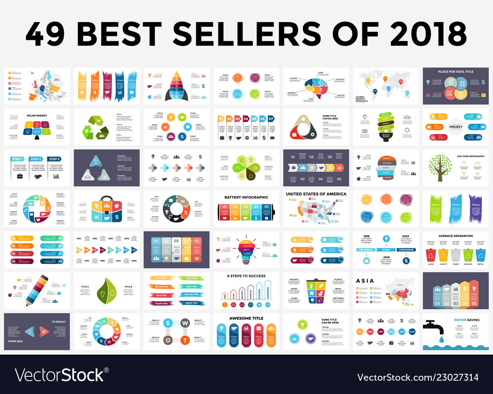 Best infographic templates of 2018 presentation