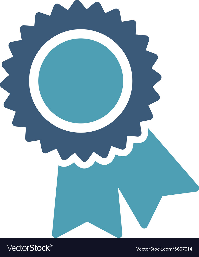 Certification Icon From Competition Success Vector Image