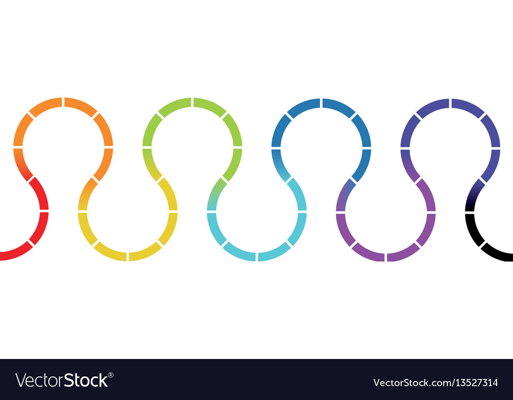 Color figures signs icon vector image