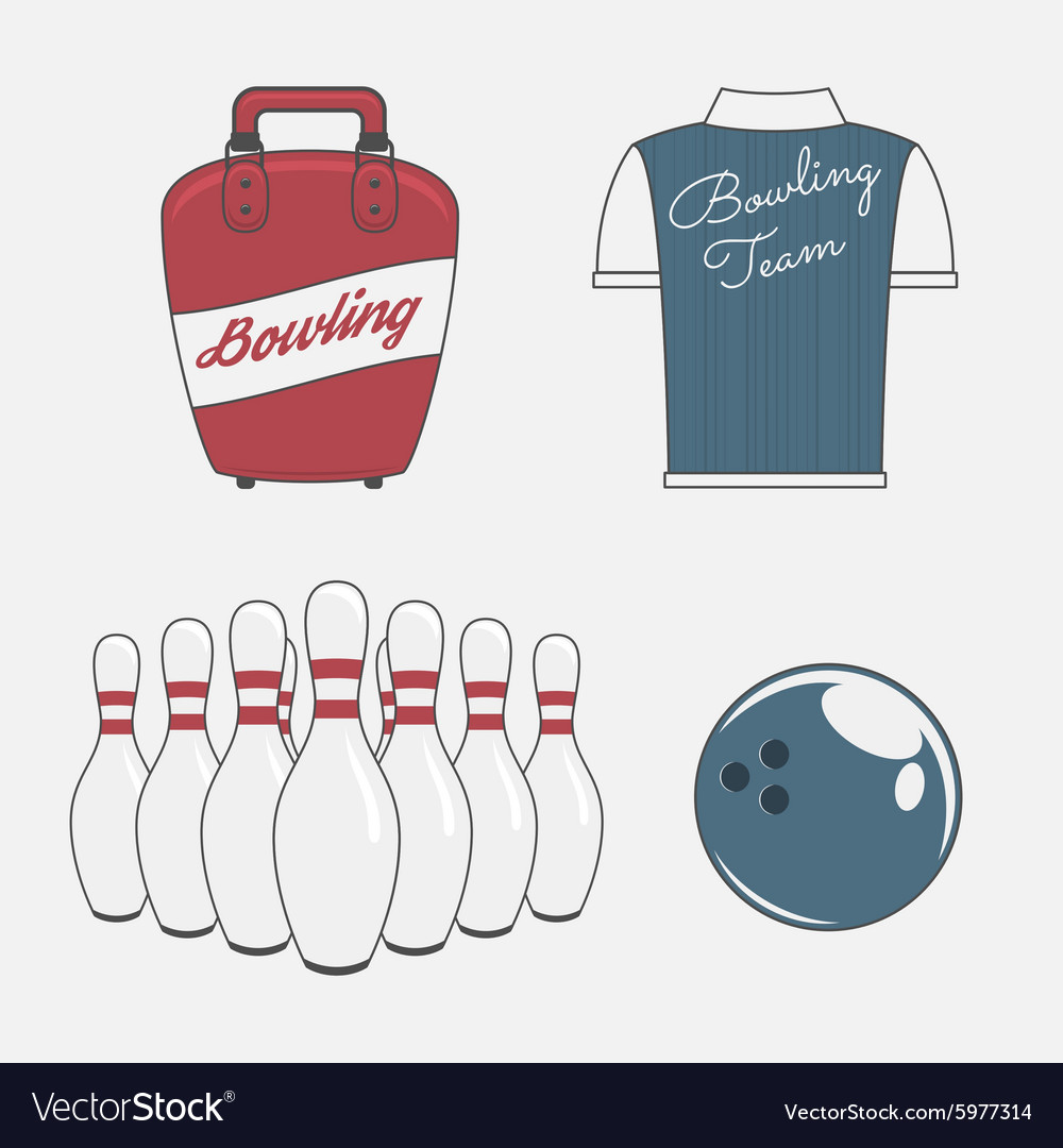 Elements Set for a Bowling Team