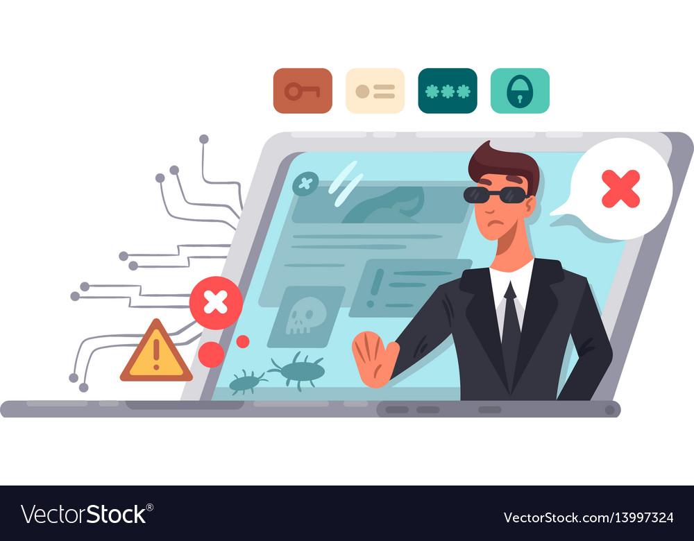 Online computer security