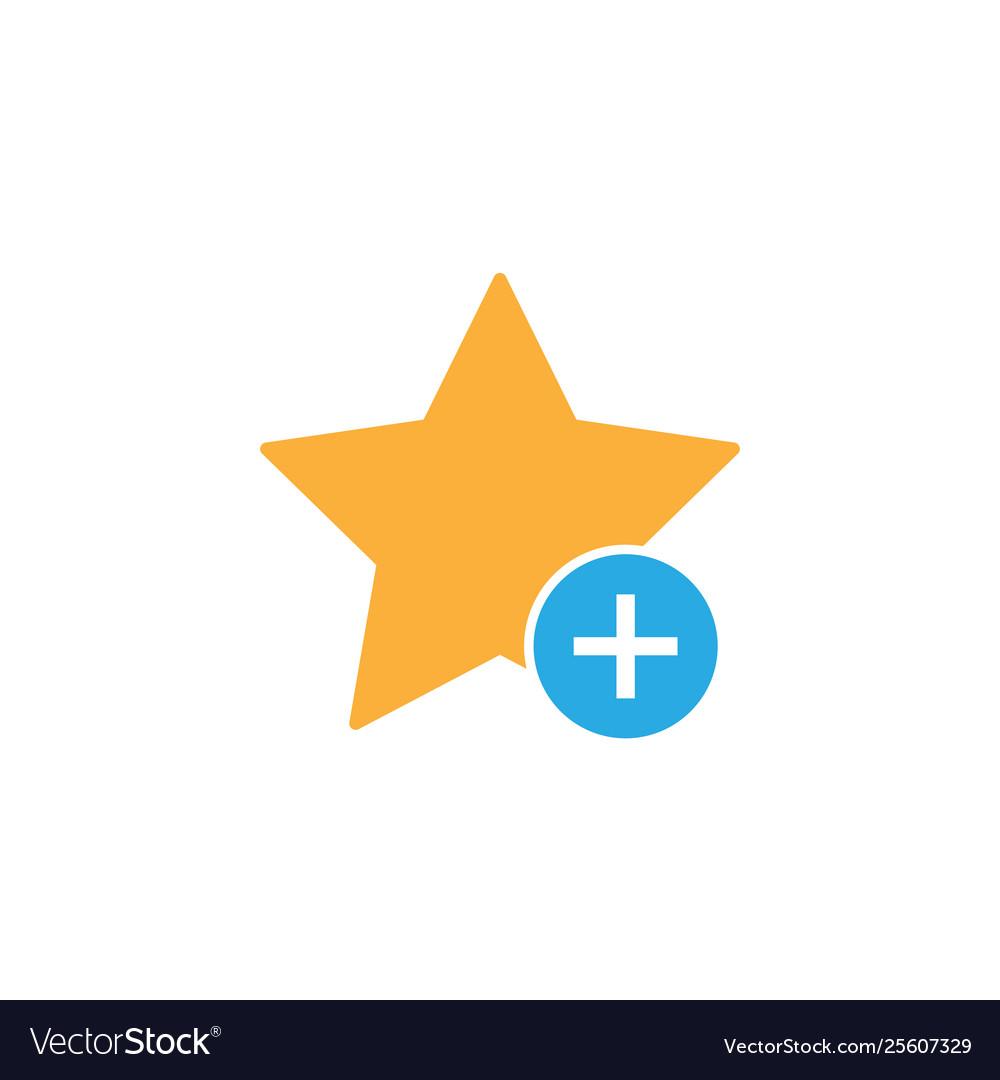 Add favorite star bookmark icon