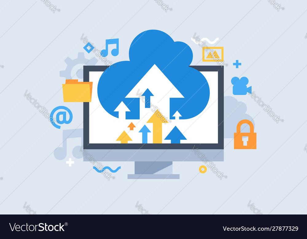 Cloud storage download