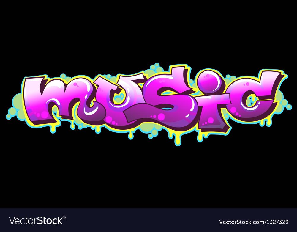 Graffiti Music Urban Art