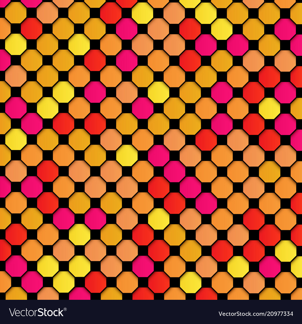 Abstract geometric background multicolor pattern