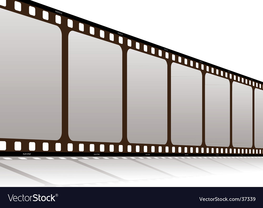 Film along vector image