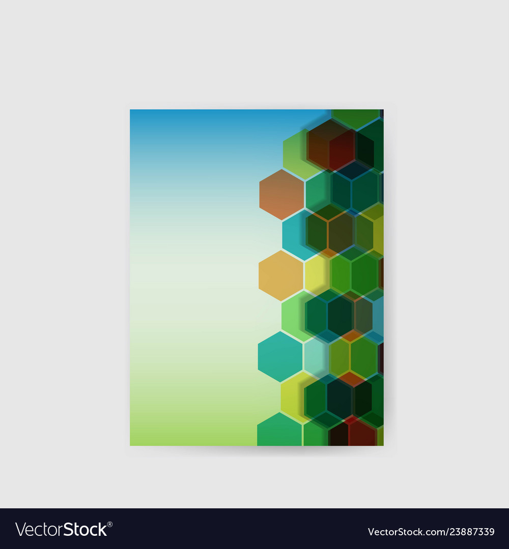 Hi-tech abstract background poster geometric