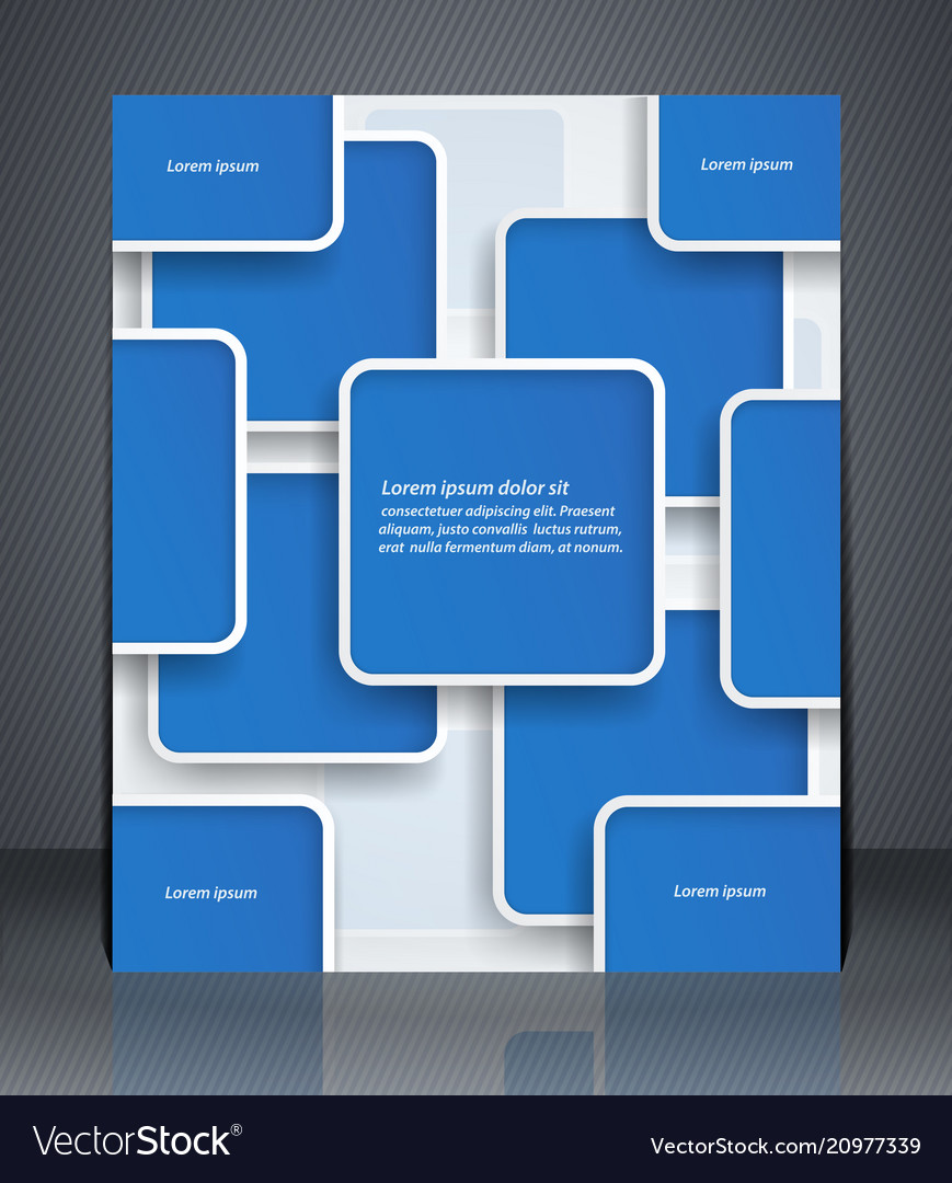 Layout flyer business brochure or flyer template