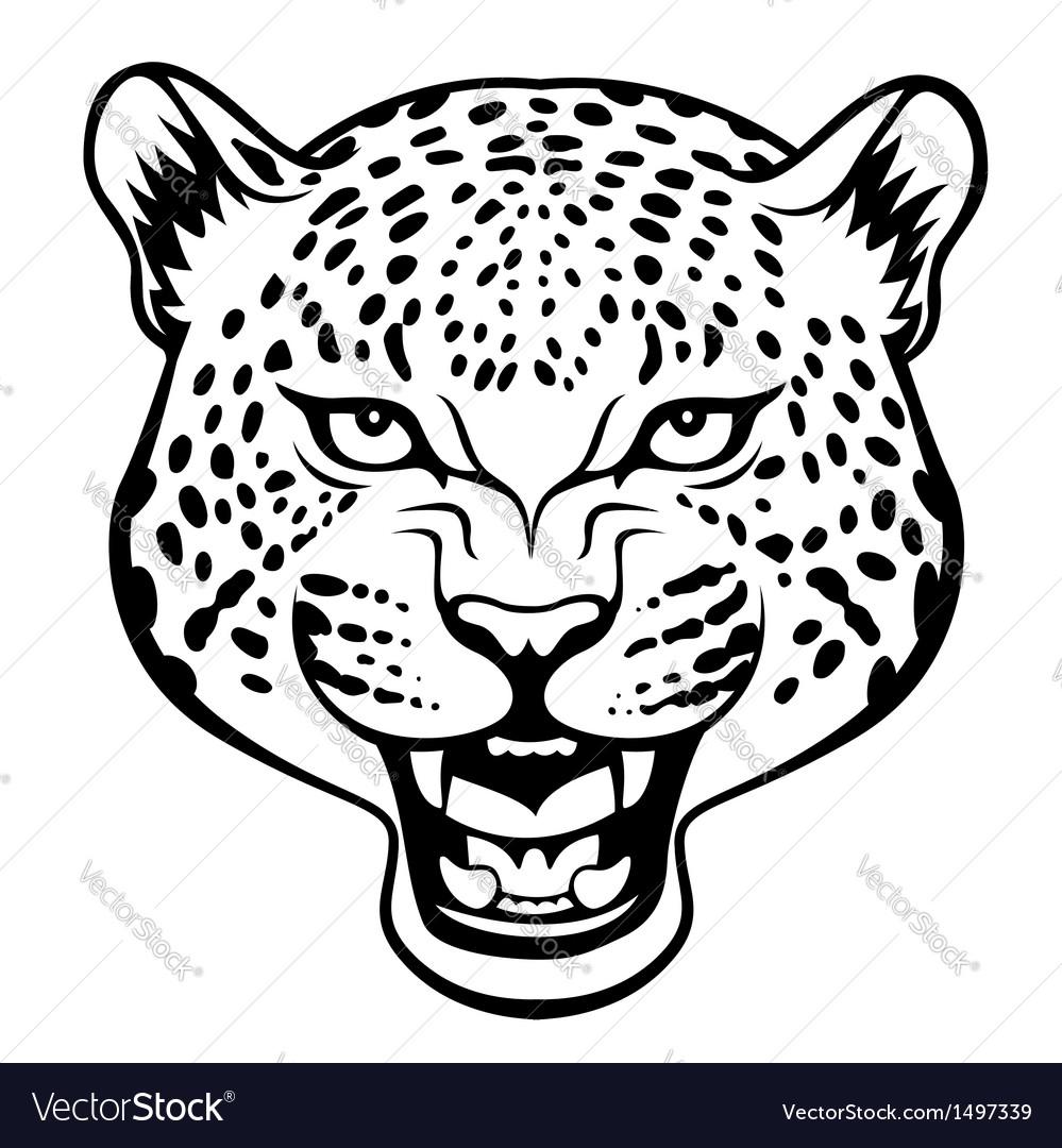 9e7ae1f3a Tribal jaguar Royalty Free Vector Image - VectorStock