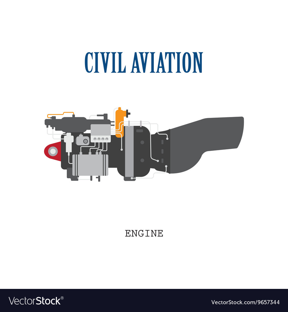 Engine of the helicopter or aircraft
