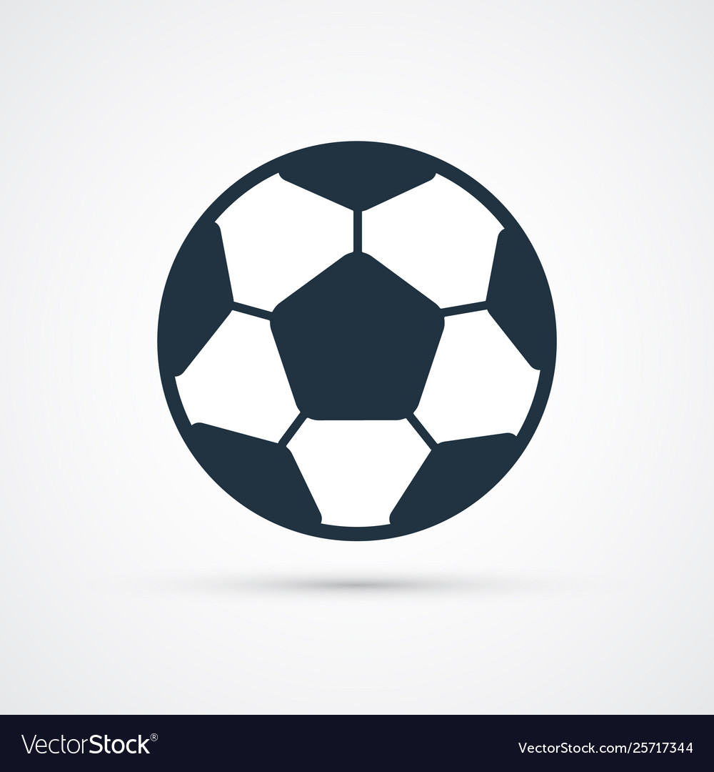 Soccer football ball colored