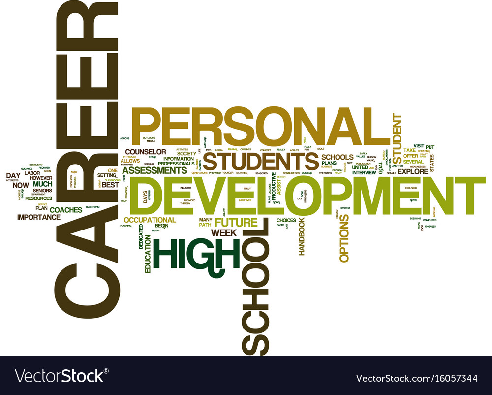 The importance of personal career development for