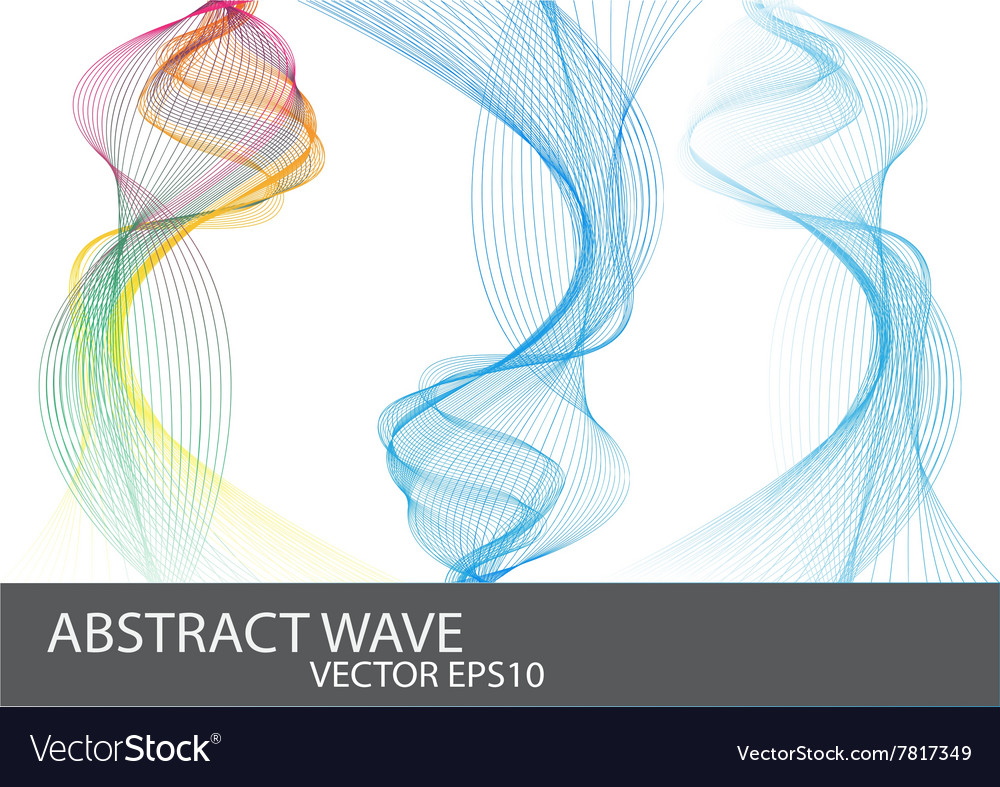 Abstract Beautiful Wave