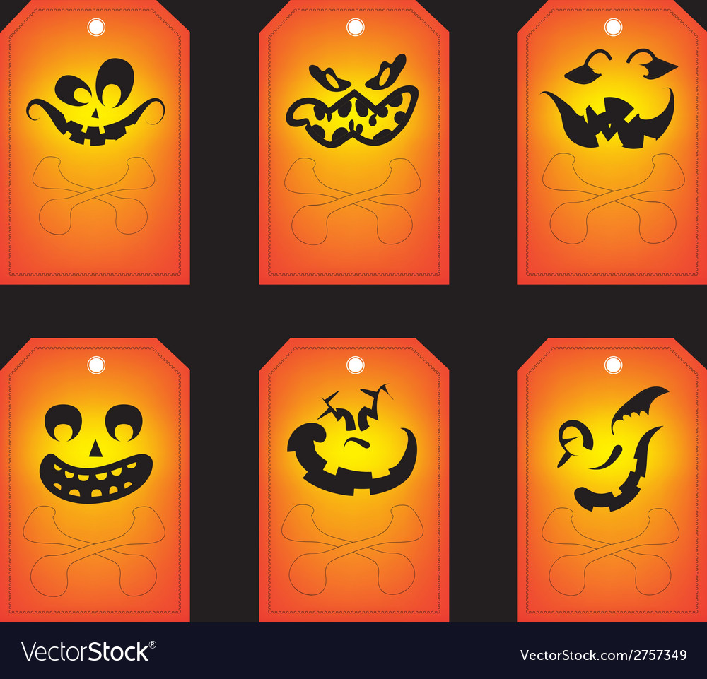 Halloween Gift Tags.Chalkboard Halloween Gift Tags