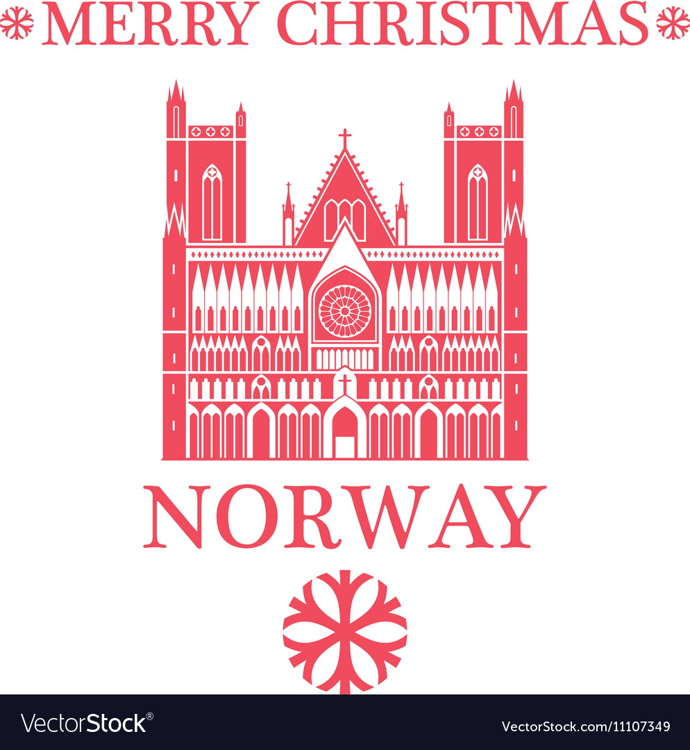 Merry Christmas In Norwegian.Merry Christmas Norway