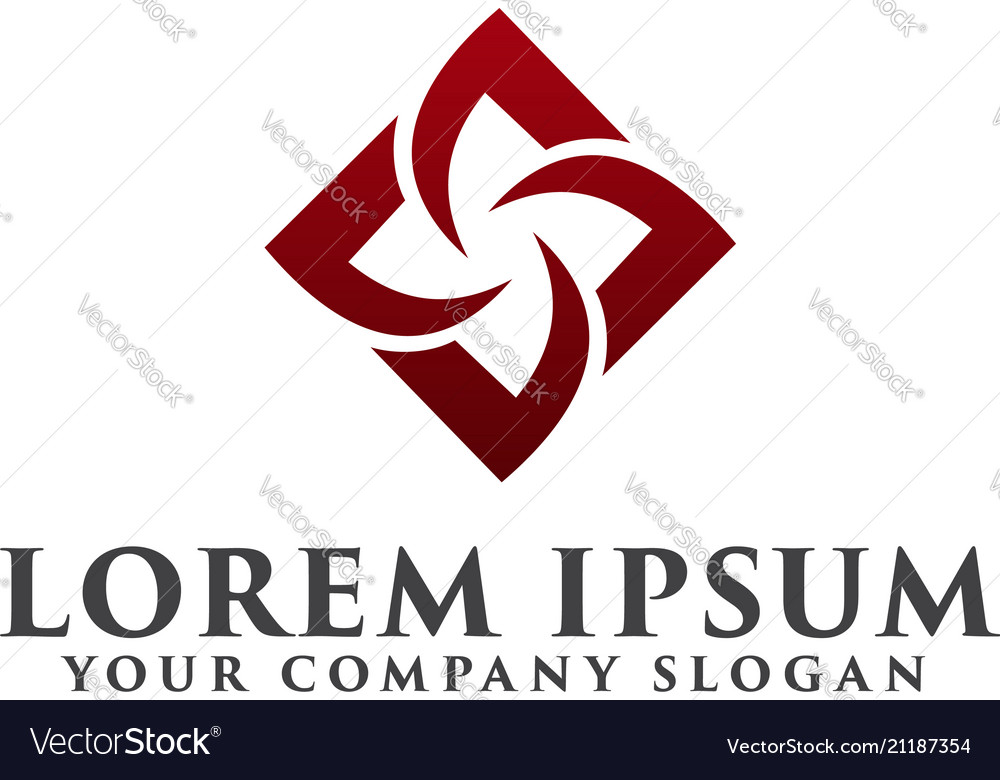 Construction logo interior logo design concept