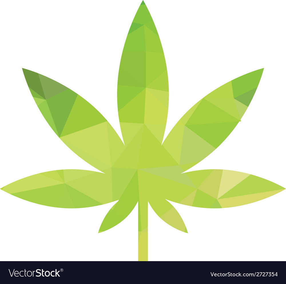 Weed icon vector image