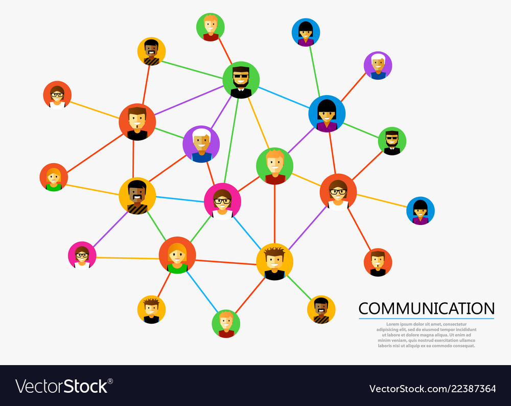 Abstract social network scheme which contains
