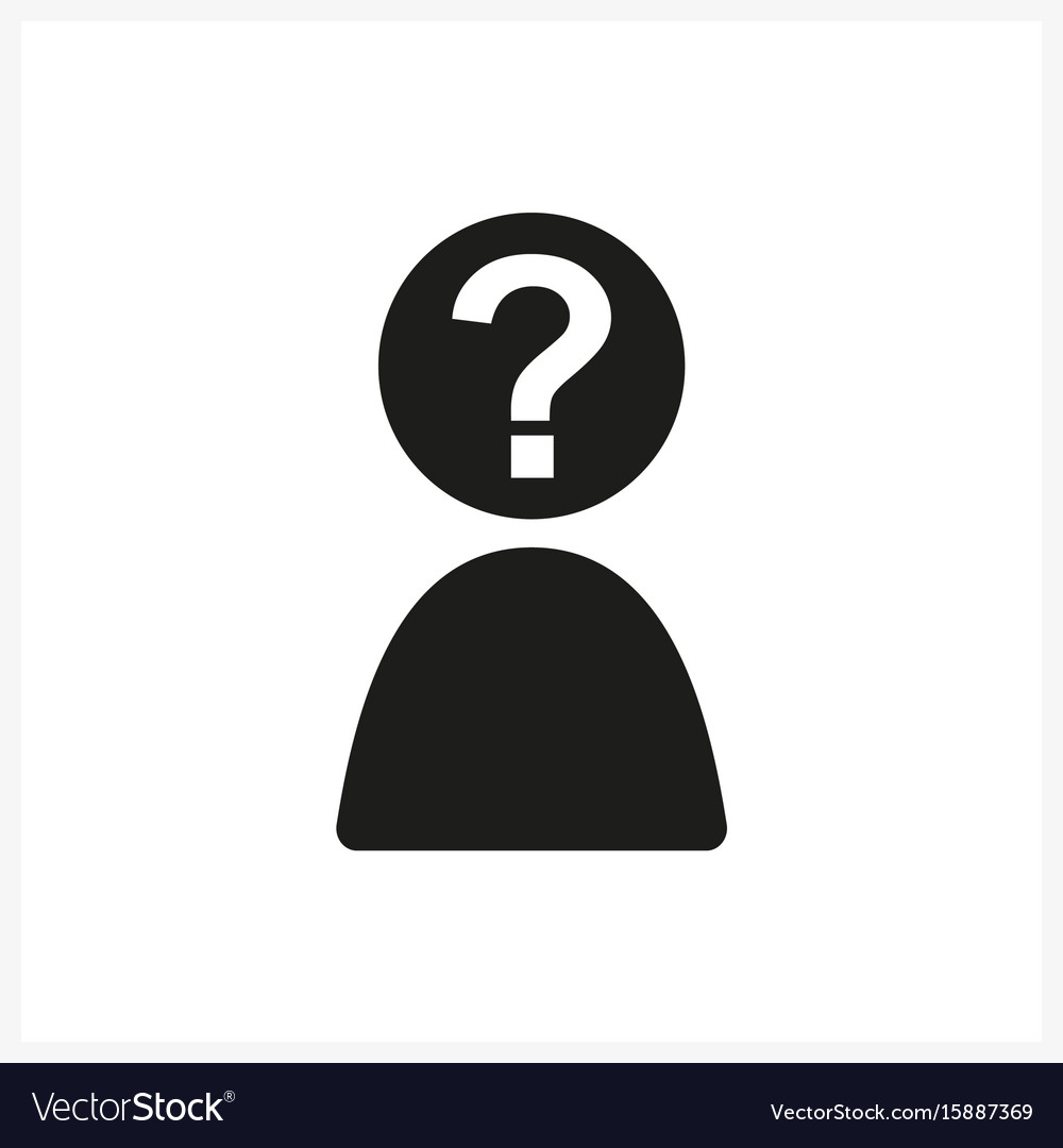 Anonymous male profile picture emotion avatar vector image