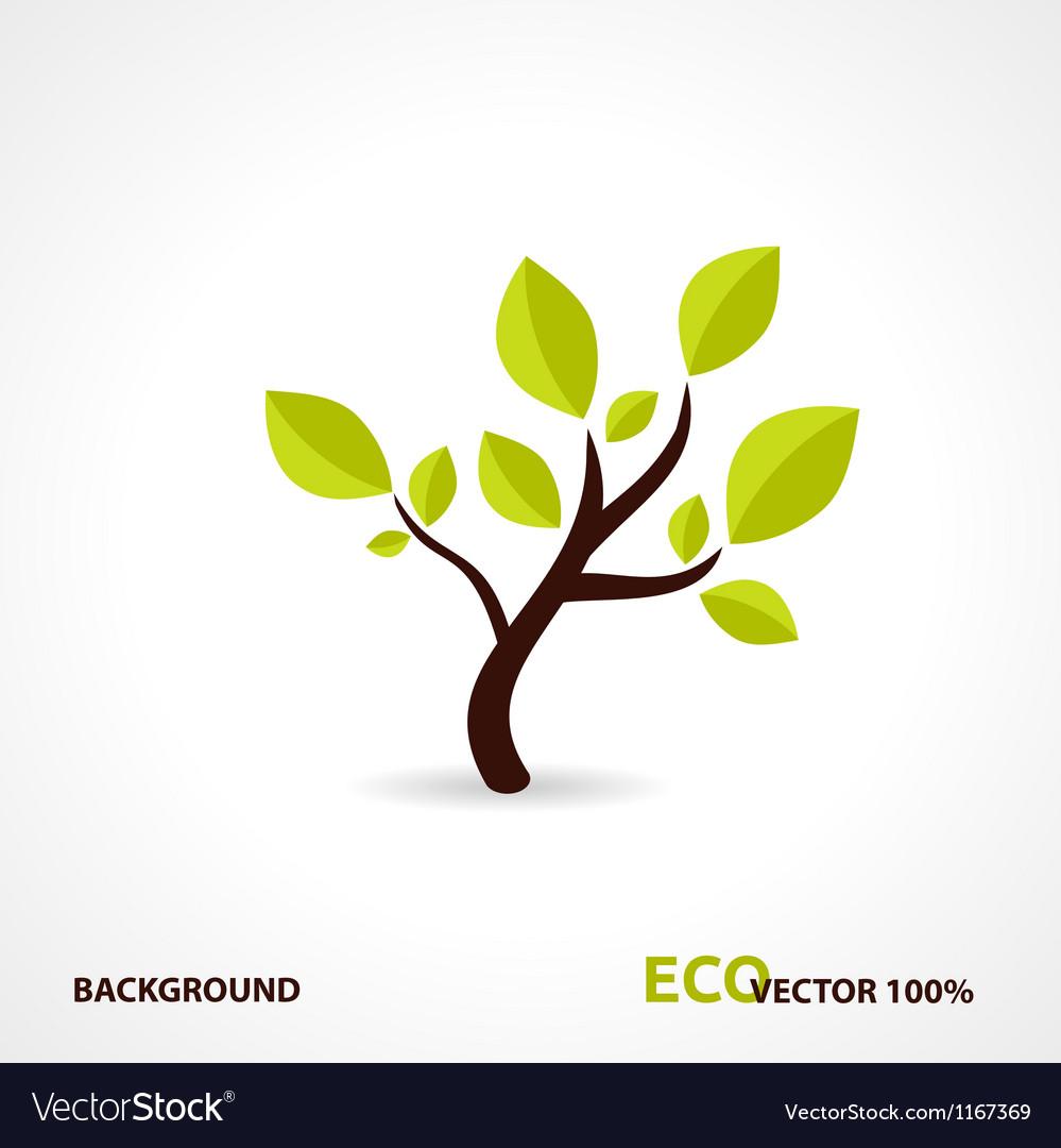 Eco Tech Design vector image