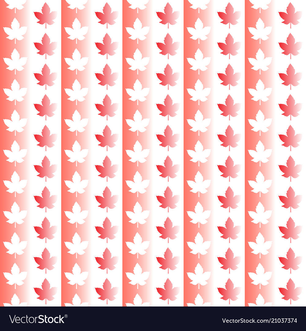 Canada seamless pattern happy canada day