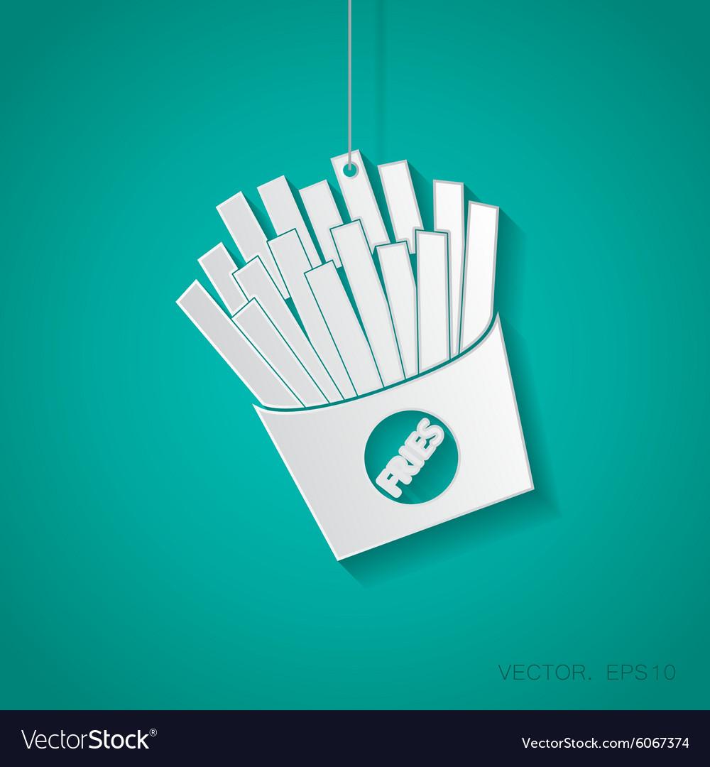 Fries icon Eps10