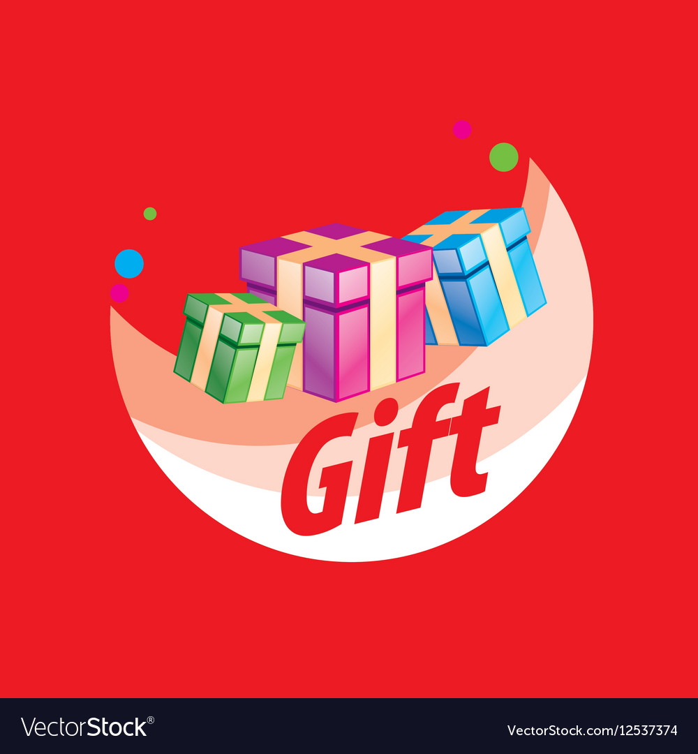 Logo box with gifts