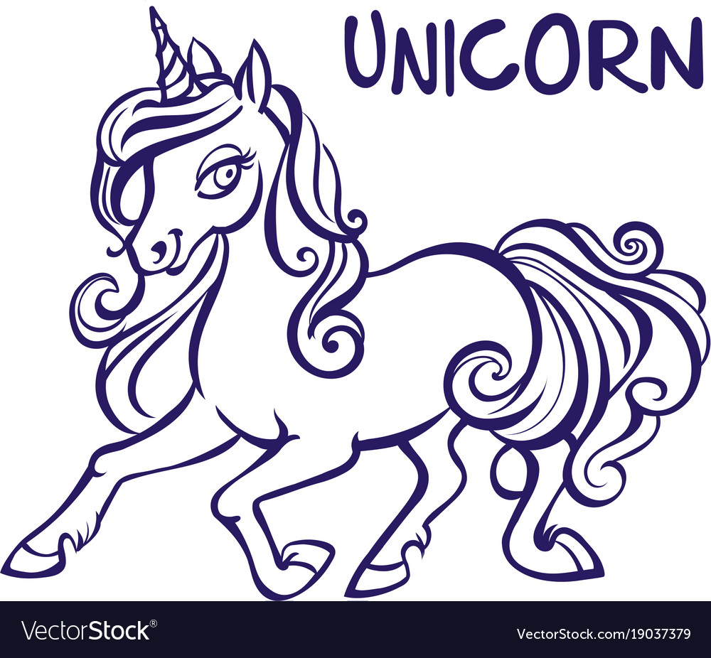Unicorn Artwork Coloring Book Pages For Adults