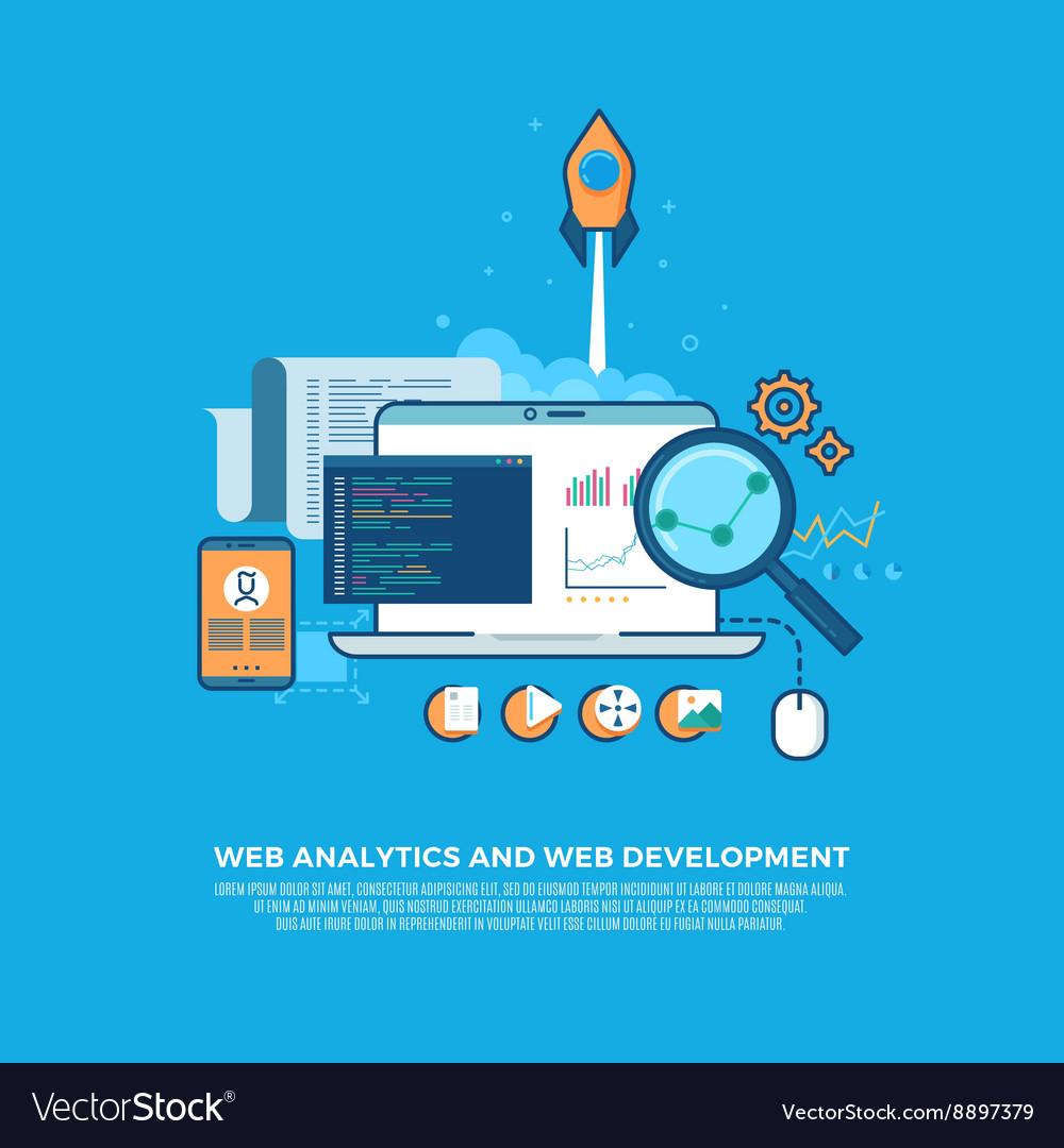 Web analytics information and website development