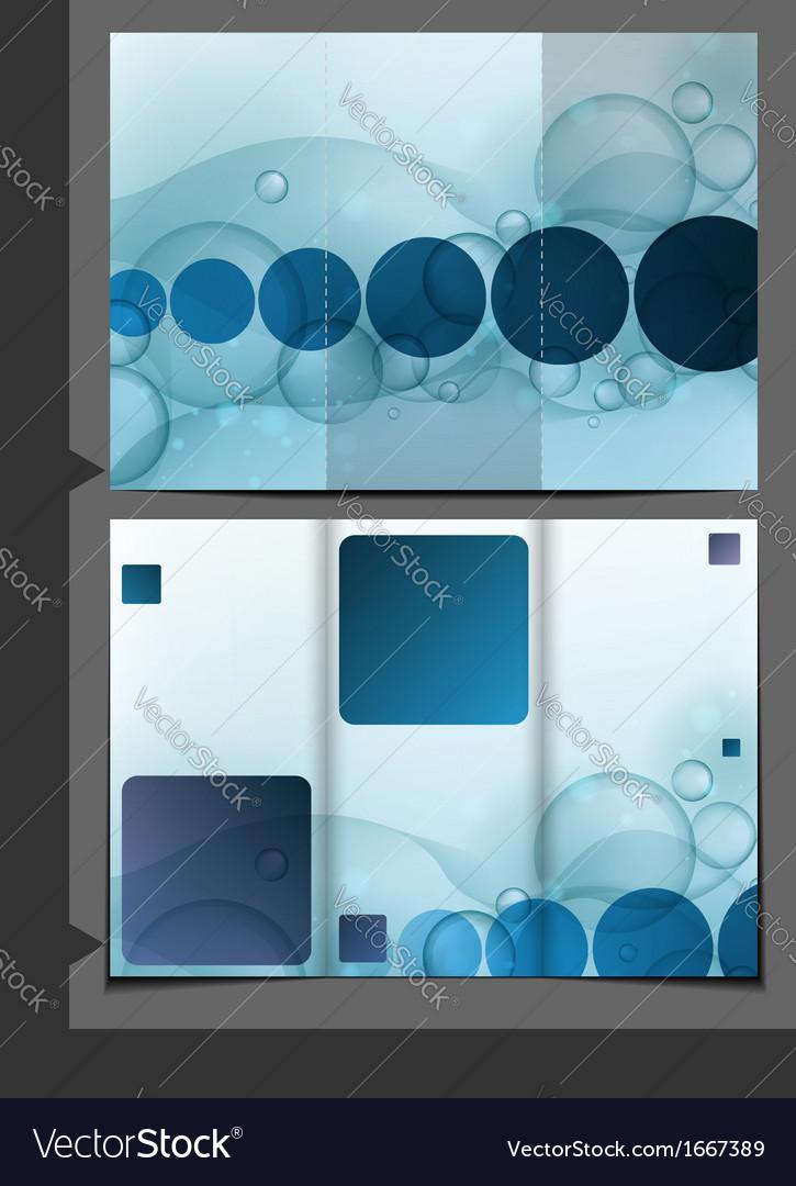 Bubble Brochure Design Template