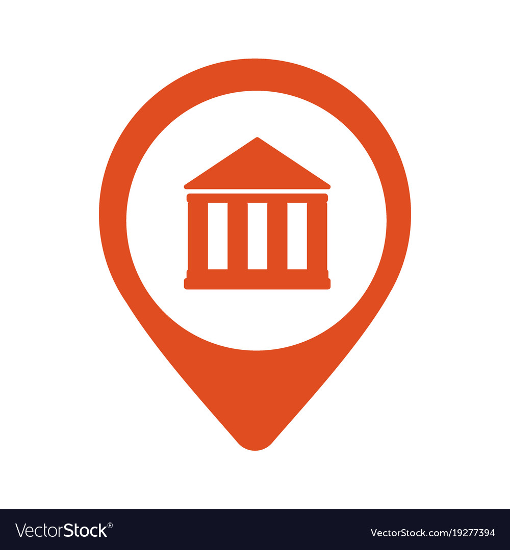 Location bank icon