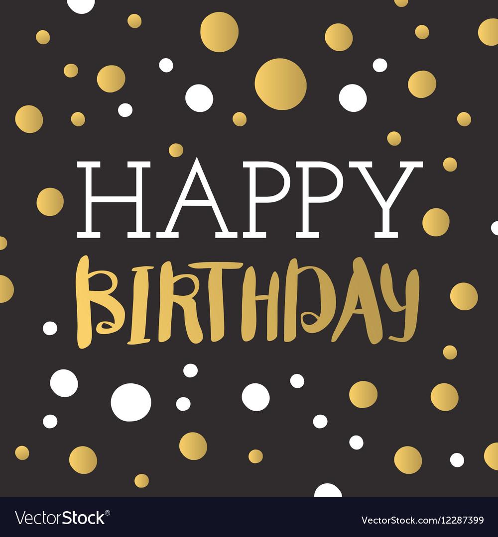 Beautiful happy birthday invitation cards