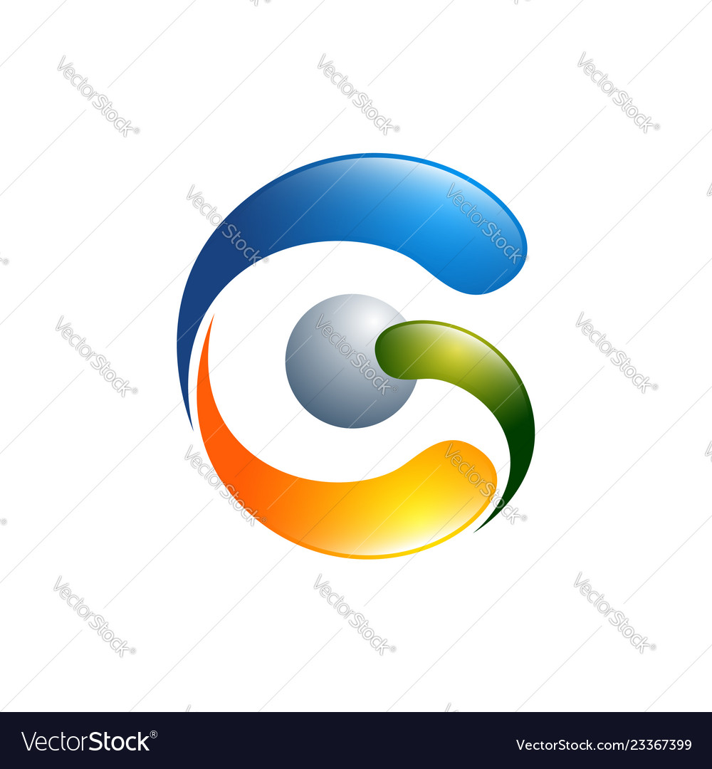 G letter logo design template g letter logo
