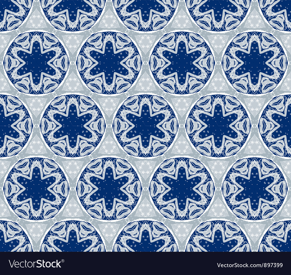 Seamless wallpaper with winter pattern
