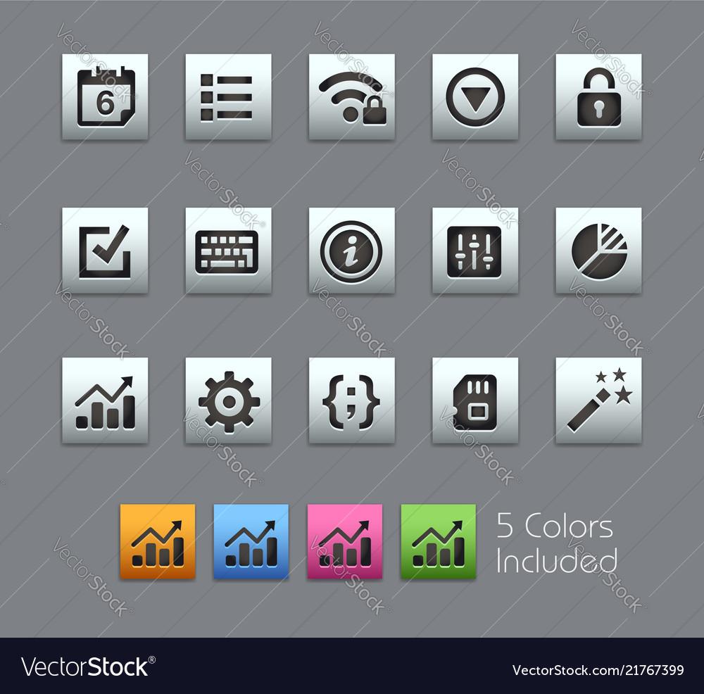 System settings interface - satinbox series